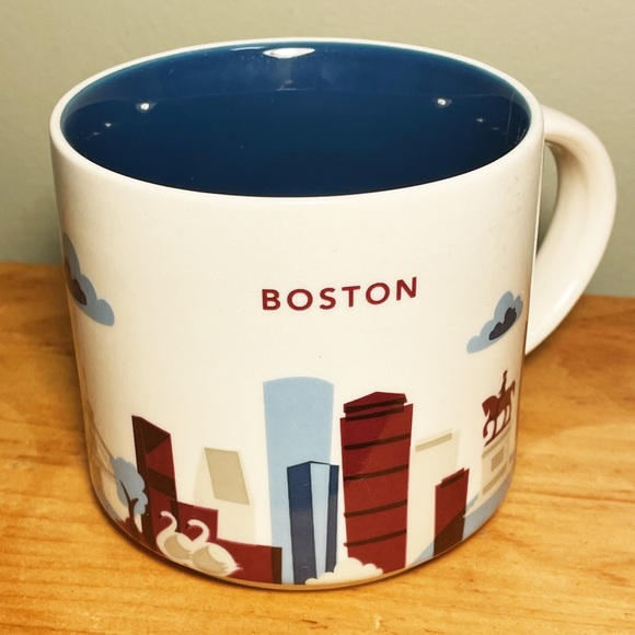 """Starbucks Boston, Massachusetts """"You Are Here"""" mug"""